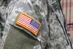Flag on Uniform