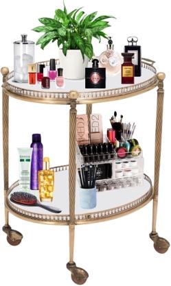 bar cart vanity
